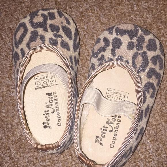 43bb4497db37 Petit Nord Copenhagen Leopard Ballerina Shoes